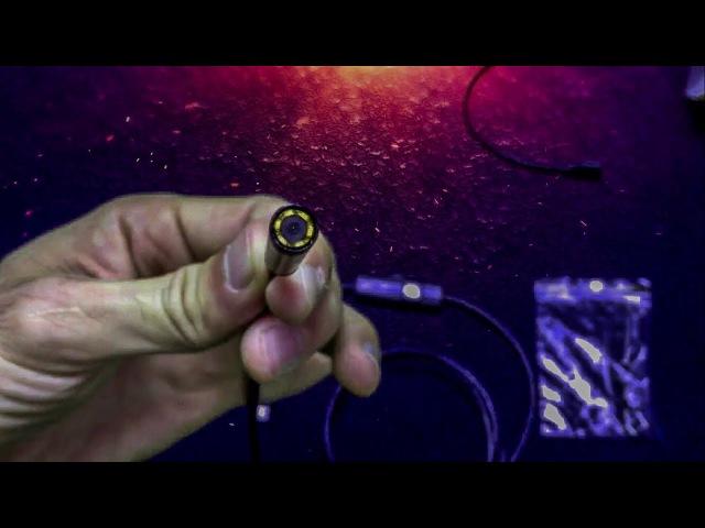 1 м-5м Android эндоскопа 7/5 мм 6 светодиодных USB Водонепроницаемый Бороскоп Инспекции ...