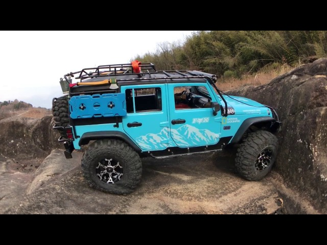 Traxxas TRX4 Defender | TRX4 Rubicon JK | K-5 Blazer Ascender | Rock trials
