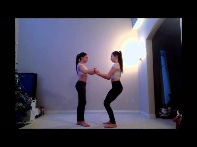 Tori and Raegan Ladd- Acro Tricks