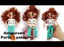 Amigurumi muñeca moderna adolescente parte 1 4
