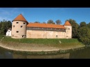 Old Town Fortress of Sisak from the Sky (DJI Phantom 2 Vision plus)