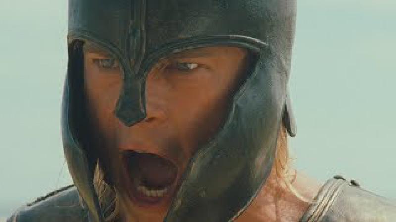 Троя Ахиллес вызывает Гектора на бой у стен Трои