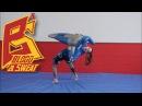 Тренировка бросков и партера с борцовским чучелом манекеном Грэпплинг и борьба Анжелика Пиляева