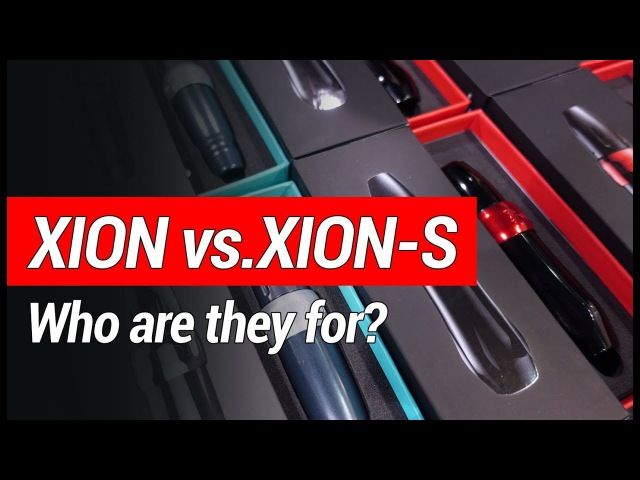 Xion and Xion S Comparison Philly Convention 2018