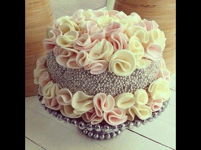 ❤Старайся не залипнуть😍Удивительные украшения тортов кремом♥Как украсить торт 61 😱