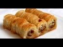 Готовим турецкую пахлаву дома.Рецепт теста для пахлавы.Турецкая сладость пахлава.
