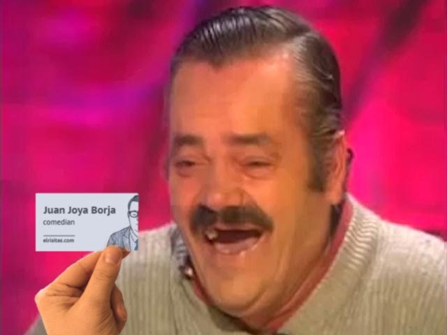 Хохотун и визитки / Risitas y las tarjetas de presentacion