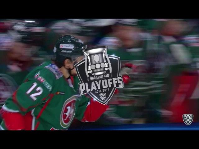 Моменты из матчей КХЛ сезона 16 17 Гол 2 1 Глухов Михаил Ак Барс забрасывает шайбу в ворота соперника 28 03