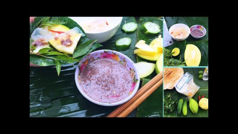 Ăn Sứa Biển Với Mắm Tôm Ngon Quá Đã - Món Ăn Dân Dã Miền Trung