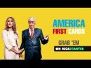 Klemen Slakonja as Trump & Melania - AMERICA FIRST CARDS (Kickstarter)