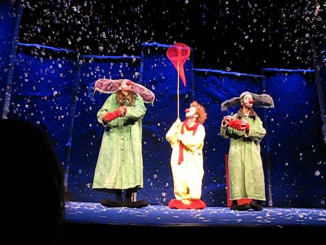 Slavas Snowshow Théâtre Monfort Paris 12/12/2009