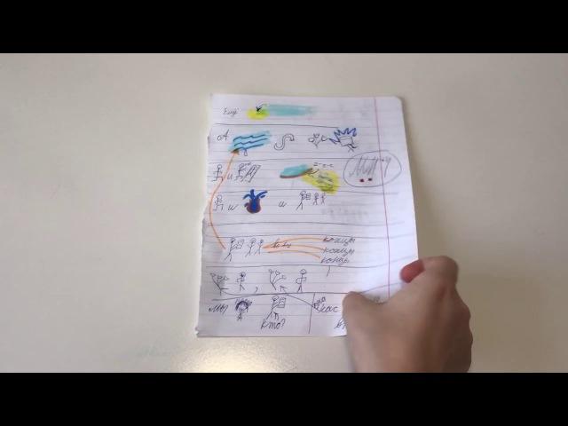 Учим и читаем стихи с помощью пиктограмм