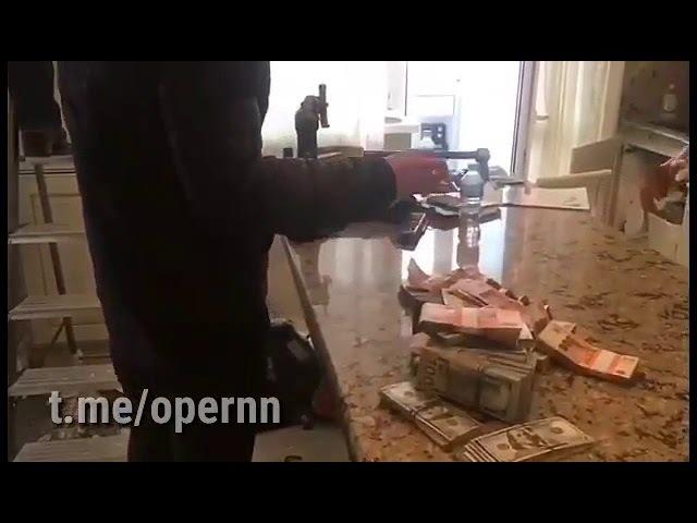 Обыск в квартире главы УФНС РФ по Нижегородской области Шелепова