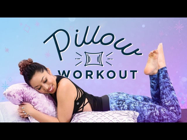 Pillow Workout for Lazy Days | At Home Ab Butt Exercises