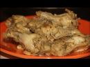 Крылья куриные тушеные с луком Вкусные крылья