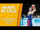 VTBUnitedLeague • Star Performance. Nando De Colo - 35 pts (career high), 7/9 3pt 31 eff @ Avtodor Saratov!