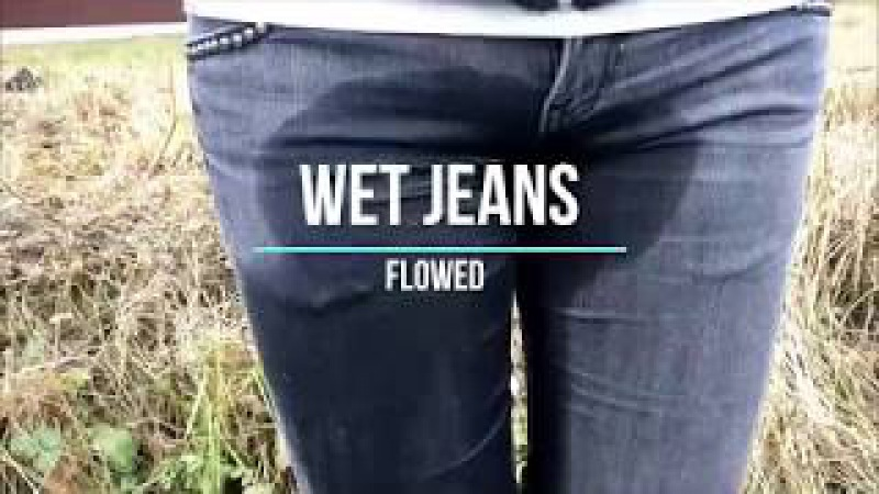 Girl in wet leather high boots and wet jeans MOV 0136 1 06112017 new