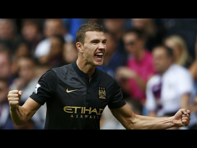 Edin Džeko - all 72 goals for Manchester City