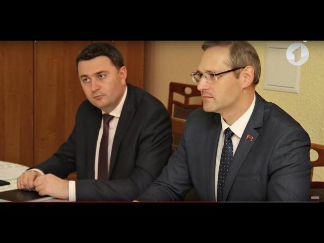 Рабочая встреча Виталия Игнатьева и Георгия Бэлана в Кишиневе