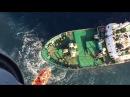 Магаданские спасатели эвакуировали пострадавшего рыбака с рыболовецкого судна