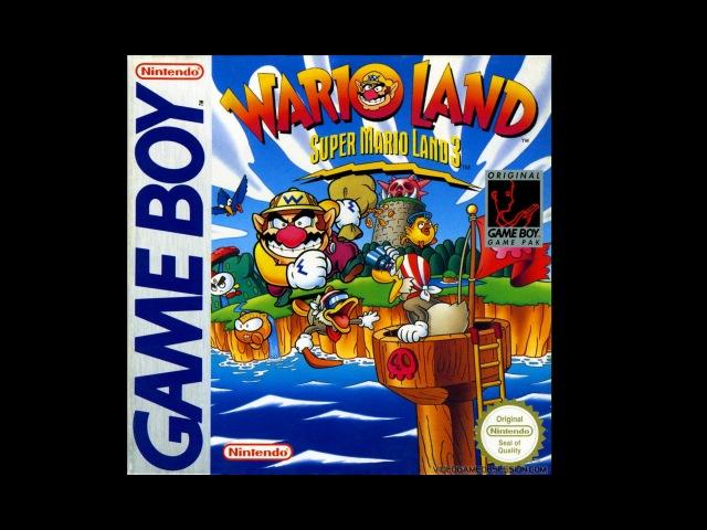 Wario Land - Super Mario Land 3 full walkthrough and perfect ending (Game Boy)