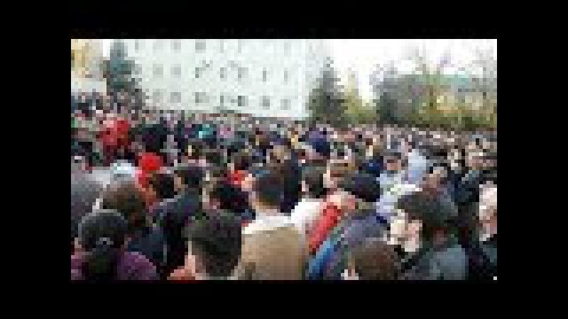 Live: митинг в Чадыр-Лунге в поддержку жертв ДТП