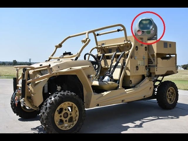 News MRZR ATV Shoots Down Drones With High Energy Laser Weapon