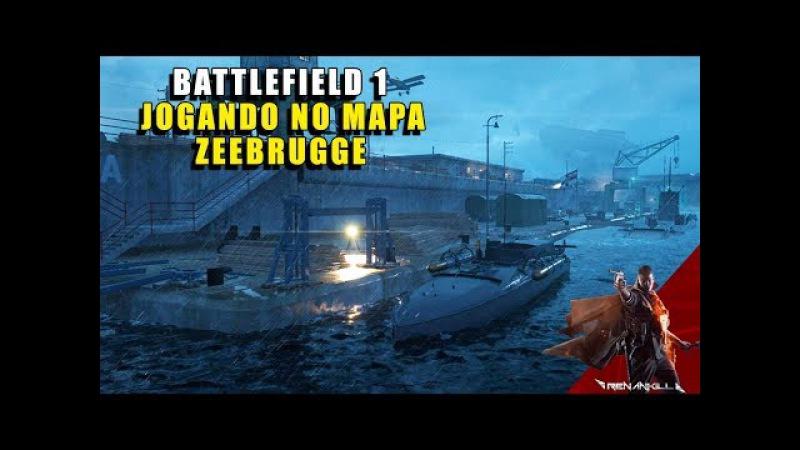 BF1 NOVO MAPA ZEEBRUGGE - TURNING TIDES - PT BR
