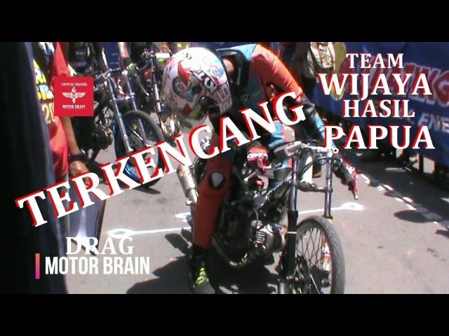 JUPITER TERCEPAT Tunggangan ERWIN SREDEK 26 Team WIJAYA HASIL PAPUA | VIDEO DRAG BIKE