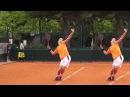 Теннис. Подача 5. Фрагмент 32 минутного урока.