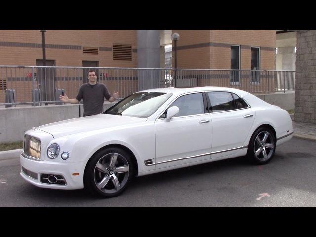 Вот почему Bentley Mulsanne стоит $375 000