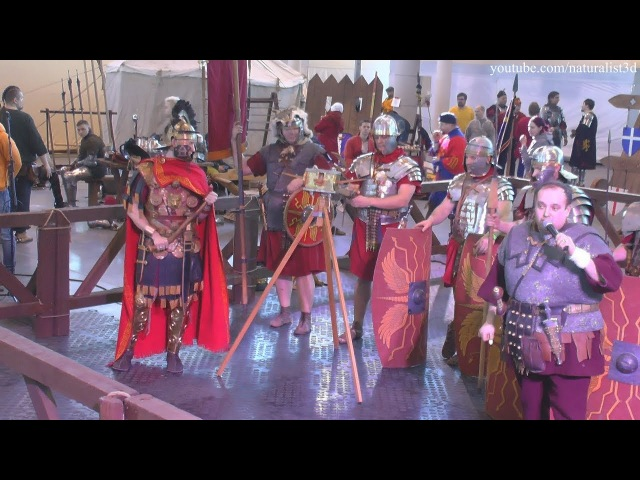 Legio X Fretensis - historical reconstruction /РЕКОН 2018/