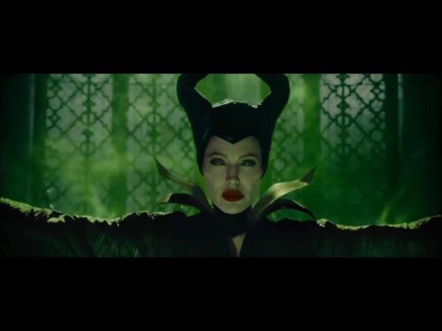 Maleficent 2014 - Maleficent's Curse Scene