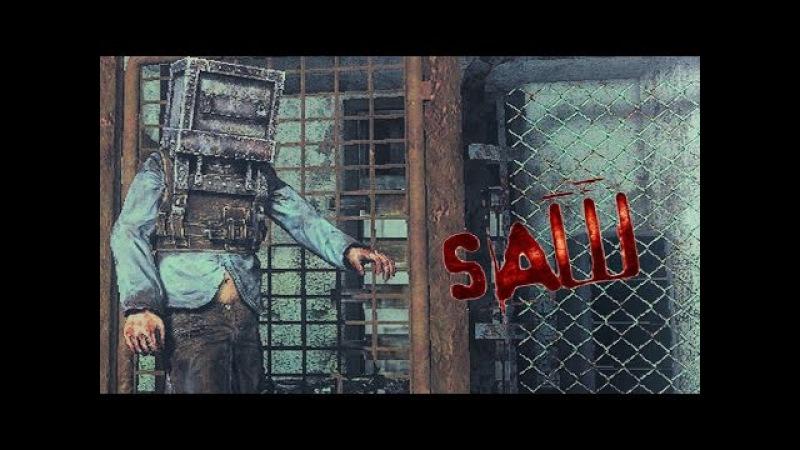 Saw: The Video Game Прохождение На Русском 3 — ЛОВУШКИ КОНСТРУКТОРА!