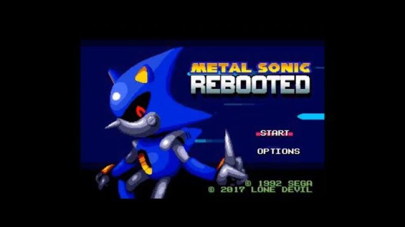 Metal Sonic Rebooted (Genesis) - Longplay