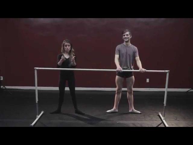 Basic Ballet w Laura - Lesson 1 POSTURE / POSITIONS / TURNOUT