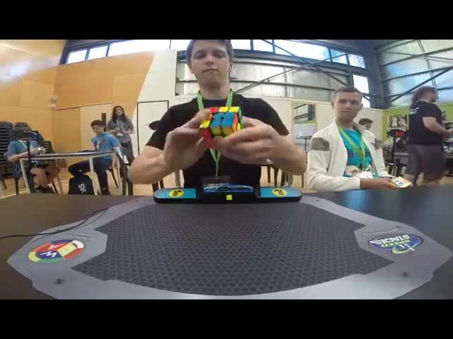 Rubik's Cube World Record 4 73 seconds Feliks Zemdegs