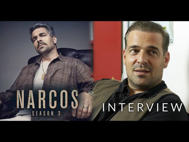 INTERVIEW Narcos Season 3 Pêpê Rapazote Chepe Santacruz