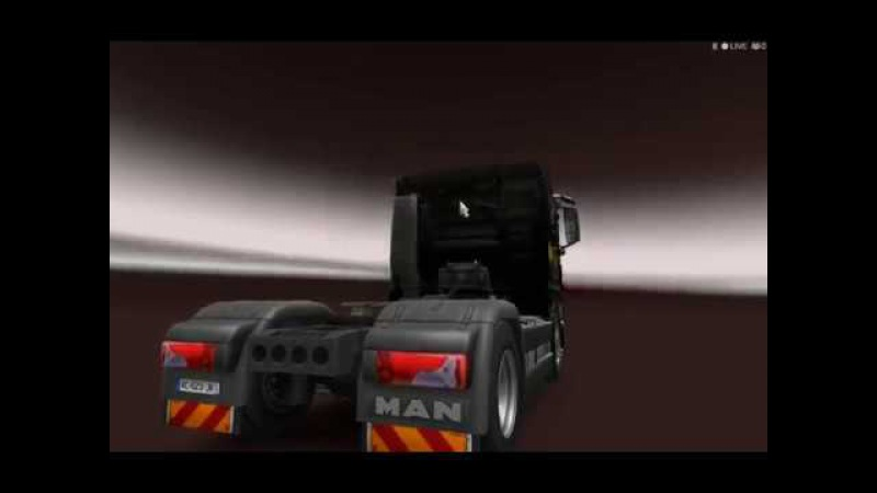Euro Truck Simulator 2/GiPiS/ Vasan fell asleep at the wheel and got in an accident