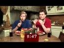 Hvem kan spise mest pølser i stresstesten?