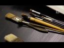 Художник Илья Ибряев. Материалы и инструменты: краски, кисти и бумага для акварели