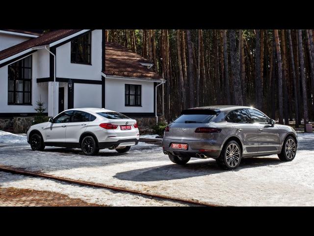 Porsche Macan vs BMW X4 — анонс поединка - видео с YouTube-канала DRIVE.RU
