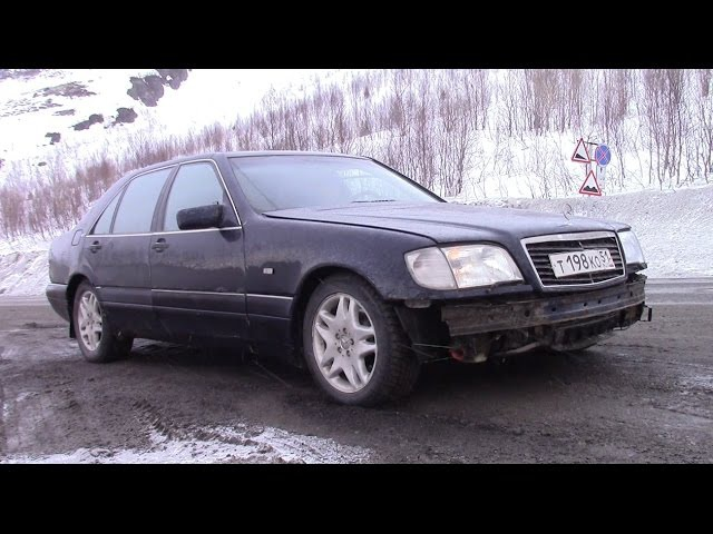 Шестисотый v12 за 100к. Выгнал из гаража. Часть 7. - видео с YouTube-канала Яковлев Миша