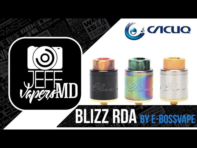 Blizz RDA by E Bossvape l from l Full HD Rewiev