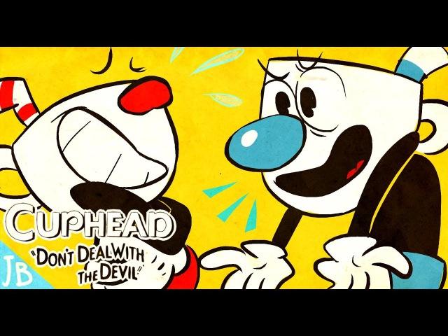 Mugman puts Cuphead on blast