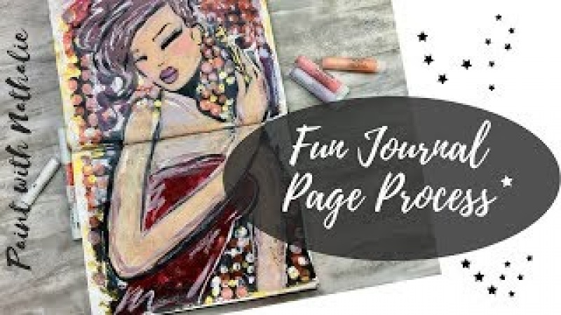 Fun Journal Page Process - 4 Journaling Prompts for Self Discovery