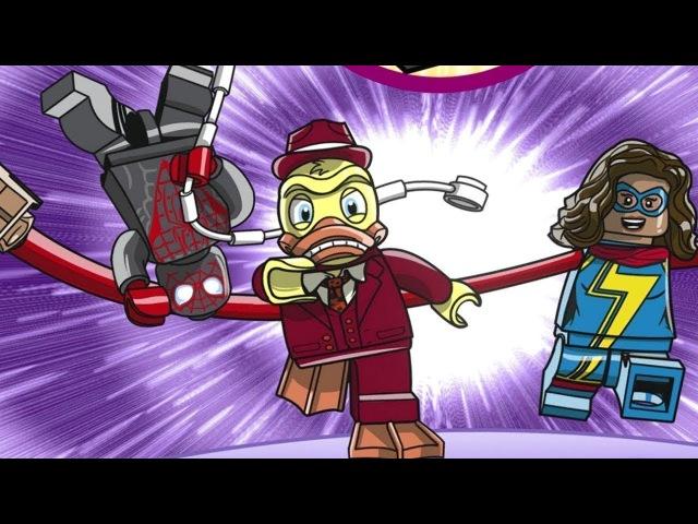 Lego Marvel Super Heroes 2 Пул-пати (Дополнительные миссии Гвенпул!)