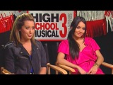 'High School Musical 3' Ashley Tisdale &amp Vanessa Hudgens Interview