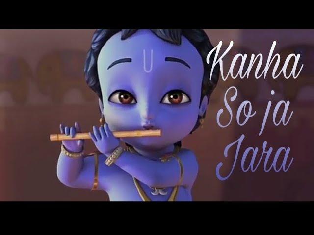 Krishna | kanha soja jara | Animated