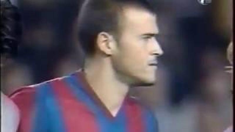 Season 2002/2003. FC Barcelona - RCD Espanyol - 2:0 (highlights)